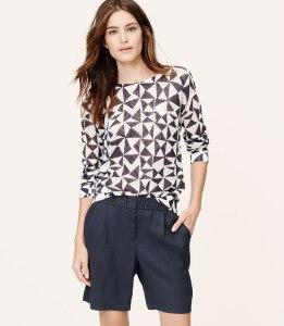 bermuda shorts trend